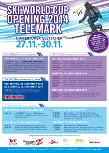 FIS Ski Weltcup Opening Telemark Programm-1