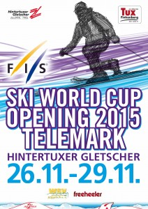 TVBTUX FIS Ski Weltcup Opening Telemark 2015 Plakat A4-FIN_PR
